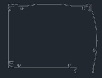 κουτί αλουμ. oval 14 x 18